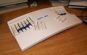 keyboard panel terpisah