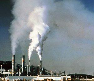 cerobong asap pabrik