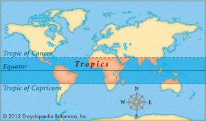 Ciri-ciri iklim tropis