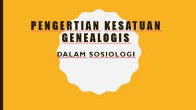 Kesatuan Genealogis