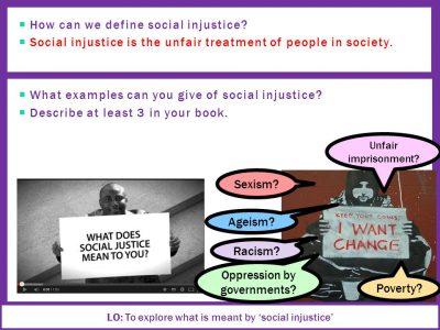 Ketidakadilan Sosial