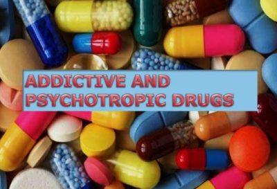 Adiktif dan Psikotropika