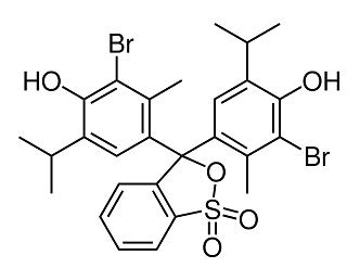 Struktur bromotimol biru