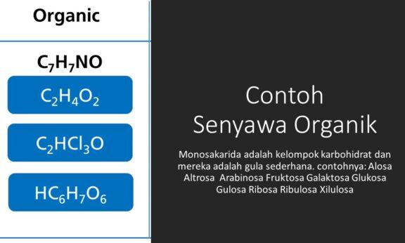 Contoh Senyawa Organik