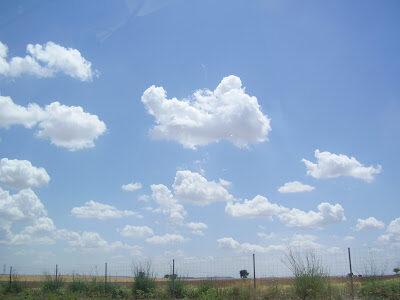 Awan Cumulus humilis